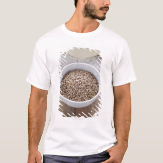 Bowl of Cereal Grain and Mound of Dough T-Shirt