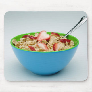Bowl of cereal mouse pad