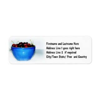 Bowl of Cherries Label