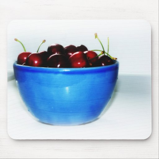 Bowl of Cherries Mouse Pad
