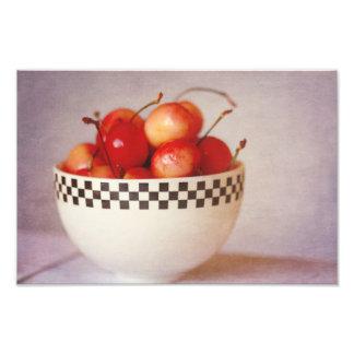 bowl of cherries photo