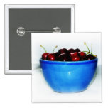 Bowl of Cherries Pinback Button