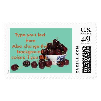 Bowl of Cherries Postage