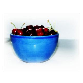 Bowl of Cherries Postcard