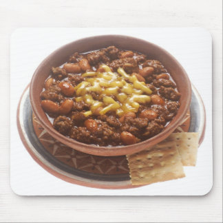 Bowl of Chili Mouse Pads