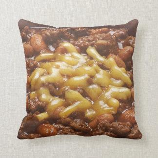Bowl of Chili Throw Pillow