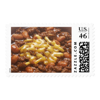 Bowl of Chili Postage Stamps
