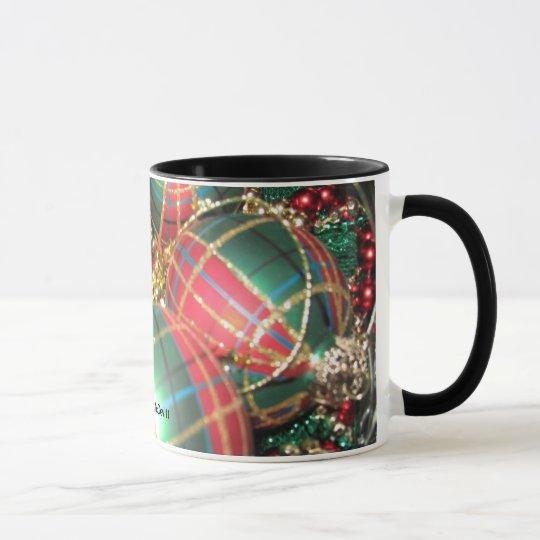 Bowl of Christmas Colors Mug