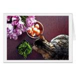 Bowl of eggs. Snapshot 3 Greeting Card
