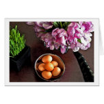 Bowl of eggs. Snapshot 6 Greeting Card