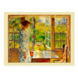 Bowl of Goldfish by Hassam Postcard