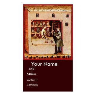 BOWL OF HYGEIA - Medicine, Pharmacy Business Card