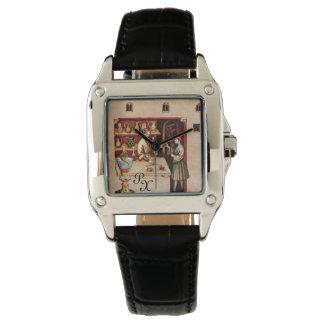 BOWL OF HYGEIA MONOGRAM Medicine, Pharmacy Wrist Watches