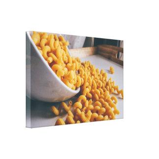 Bowl of Macaroni Kitchen Wall Art Canvas