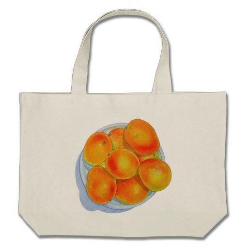 Bowl of Mangoes Tote Bags