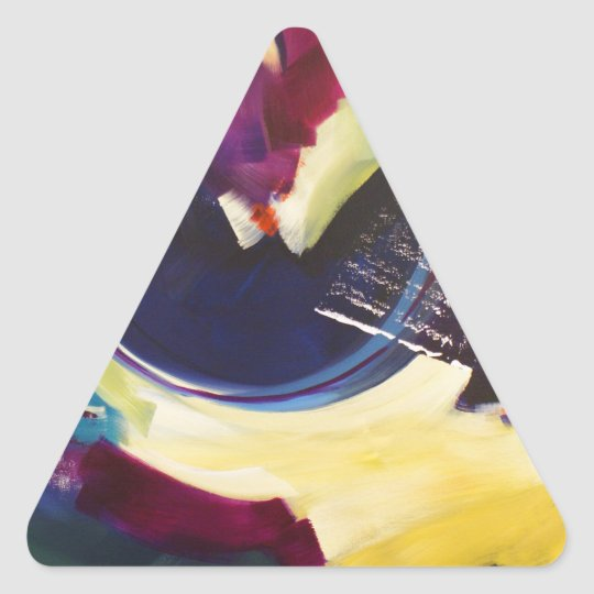 Bowl of Midnight Triangle Sticker