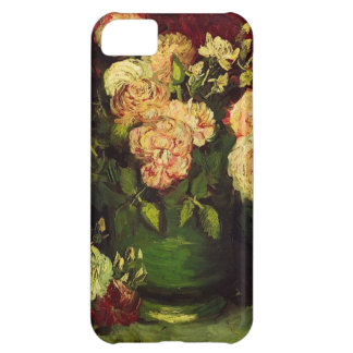 Bowl of Peonies and Rose,Vincent van Gogh iPhone 5C Cover