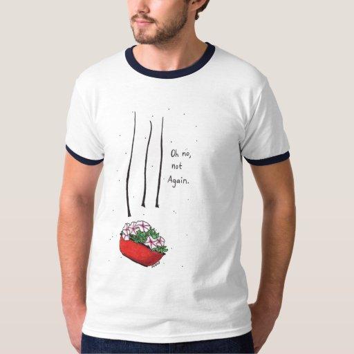 Bowl of Petunias T Shirt