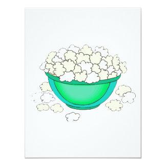 bowl of popcorn personalized invites