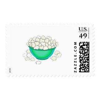 bowl of popcorn stamps