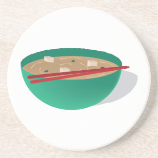 Bowl Of Soup Beverage Coasters
