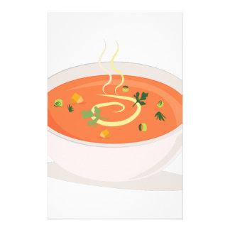 Bowl Of Soup Stationery