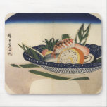 Bowl of Sushi, circa 1800's Japan. Mouse Pad