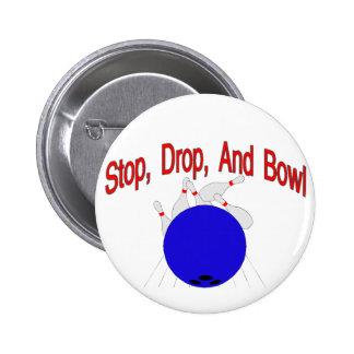 Bowl Pinback Button