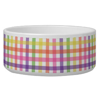 Bowl - Plaid for Painted Spider Mum Dog Bowl