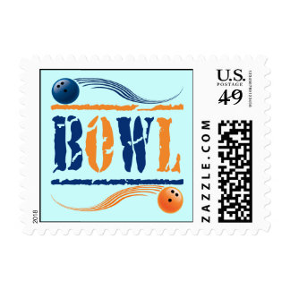 BOWL POSTAGE STAMPS