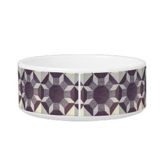 Bowl - Purple Quilt Pattern