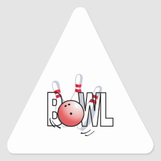 BOWL TRIANGLE STICKERS