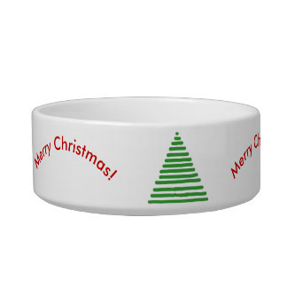Bowl - Stylized Tree with Curved Text