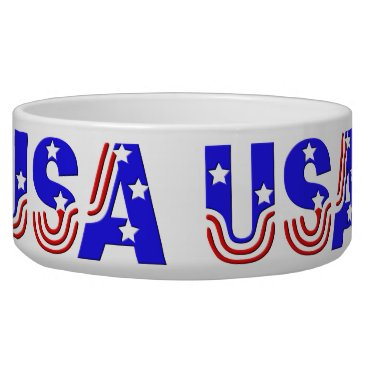 USA Themed Bowl - USA in Stars & Stripes