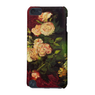 Bowl with Peonies and Roses by Vincent van Gogh iPod Touch (5th Generation) Case