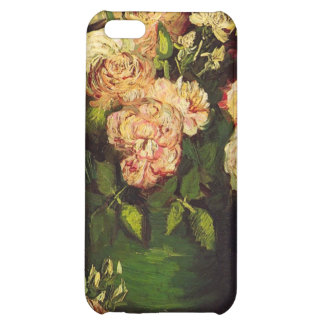 Bowl with Peonies and Roses by Vincent van Gogh iPhone 5C Covers
