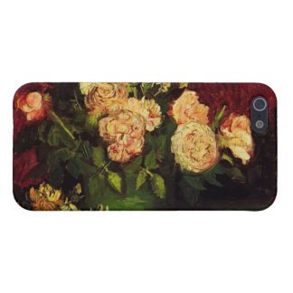 Bowl with Peonies and Roses by Vincent van Gogh Case For iPhone 5
