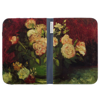 Bowl with Peonies and Roses, Vincent van Gogh Kindle 3G Covers