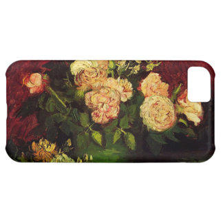 Bowl with Peonies and Roses, Vincent van Gogh iPhone 5C Covers