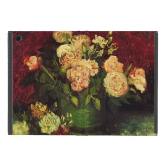 Bowl with Peonies and Roses, Vincent van Gogh. Covers For iPad Mini