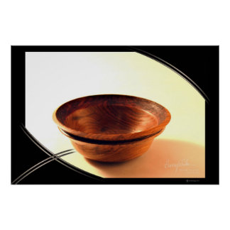 BOWL WITH TEXTURED RIM POSTERS