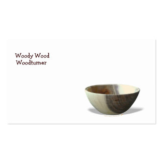 Bowl Woodturning Business Card Template Pack Of Standard Business Cards