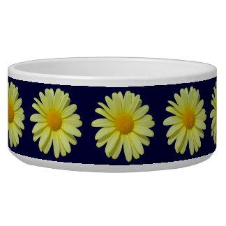 Bowl - Yellow Daisy on Midnight Sky