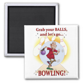 Bowler 2 Inch Square Magnet