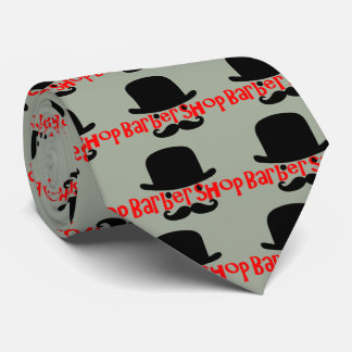 Bowler Barbershopper Tie