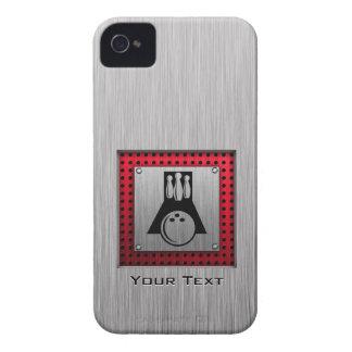Bowler; Brushed Aluminum look Case-Mate iPhone 4 Case