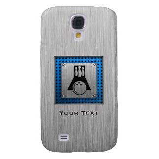 Bowler; Brushed metal-look Samsung Galaxy S4 Cover
