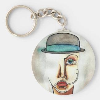 Bowler Chic Keychain