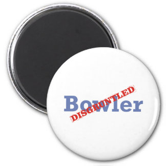 Bowler / Disgruntled 2 Inch Round Magnet