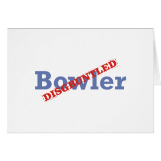 Bowler / Disgruntled Card